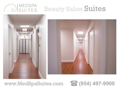 SALON SUITES FOR RENT FOR HAIRSTYLIST, COSMETOLOGIST AND MORE.