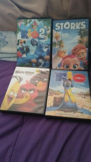4 DISNEY MOVIES $10 FOR ALL