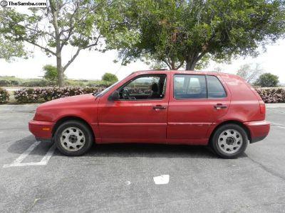 1996 VW Golf MkIII Teardrop Rims