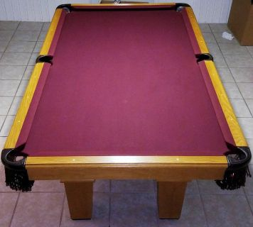 8' Mustang Pool Table-FREE DELIVERY and SET-UP INCLUDED