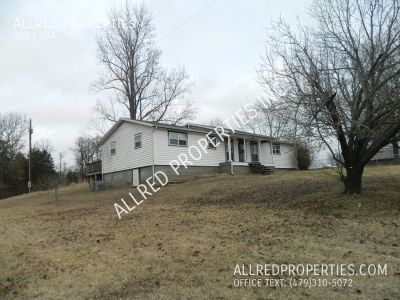 Country Home W/ Land & Large Back Porch