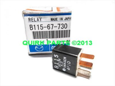 Purchase 2003-2011 Mazda 3 6 MX-5 Miata CX-7 RX-8 A/C Compressor Throttle Relay OEM motorcycle in Braintree, Massachusetts, United States, for US $22.95