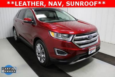 2018 Ford Edge Titanium Front-wheel Drive (Ruby Red)