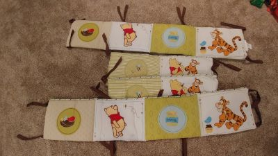 Winnie the Pooh baby bumpers