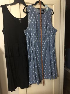 Two brand new dresses!!!