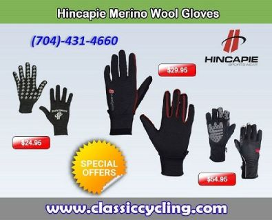 Exclusive Offer on Hincapie Men Winter Gloves by Classic Cycling