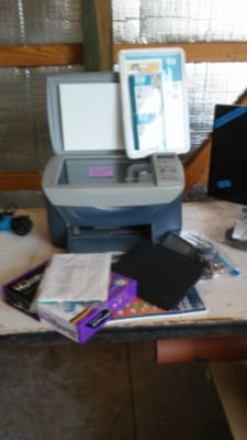 HP printer, scanner and copier.