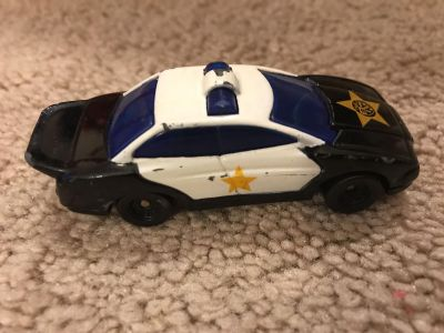 Small matchbox sized police car- FREE WITH PURCHASE