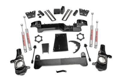 "Purchase Rough Country 297N2 01-10 Silverado Sierra 2500 4wd 6"" Suspension Lift Chevy GMC motorcycle in Benton, Kentucky, United States, for US $1,295.95"