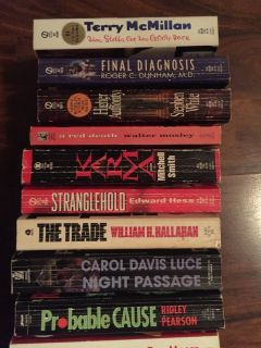 Books Paperback_4 Various authors (2 @ $1)