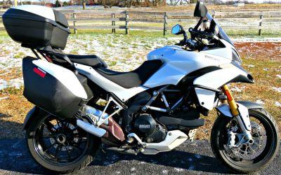2011 Ducati Multistrada 1200 S Touring Dual Purpose Motorcycles Marengo, IL