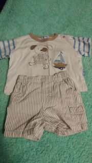 6 month summer outfit