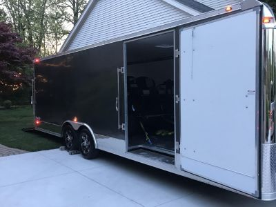 2017 Stealth 24' Enclosed Car Trailer