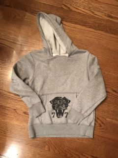 77 kids by American Eagle, hooded sweatshirt, size small (7/