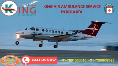 Get Certified Medical Quality by King Air Ambulance Services in Kolkata