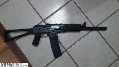 For Sale: Early M85 NPAP legally converted to rifle.