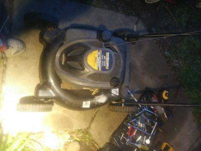 Stratton lawn mower 6.5 horsepower