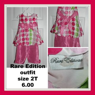 Rare Edition 2 pc. outfit size 2T
