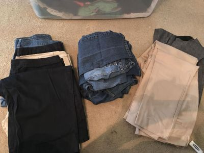 Size 18 bottoms lot