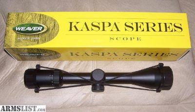 For Sale: Weaver Kaspa Series 3x9x40