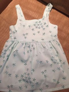 5T Old Navy Starfish Top NWOT