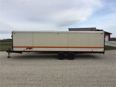 "1981 Wells Cargo ""Fun Wagon"" Enclosed Trailer"