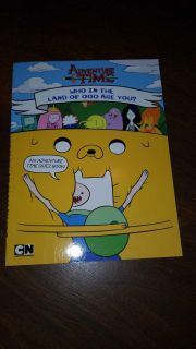 $3 new CN adventure time who in the land of oooh are you