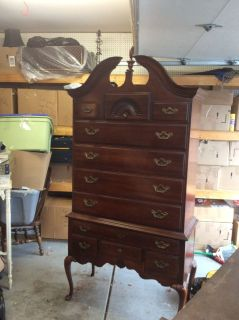 Thomasville highboy dresser or living room piece