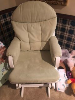 Rocking chair and matching glider