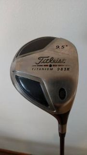 Titleist 983K Driver 9.5 - Righty - Stiff Shaft w/ Head Cover