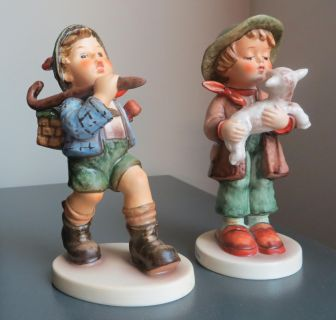 """Hummel Figurines """"The Runaway"""" and """"Lost Sheep"""""""