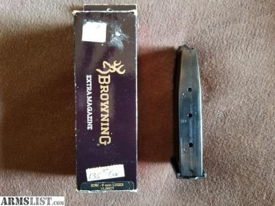 For Sale: Browning BDM 15 round mag.