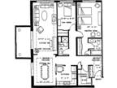 River Plaza Apartments - Two BR Two BA