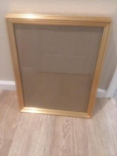 3 gold colored frames
