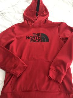 Men s North Face Hooded Sweatshirt Size Small