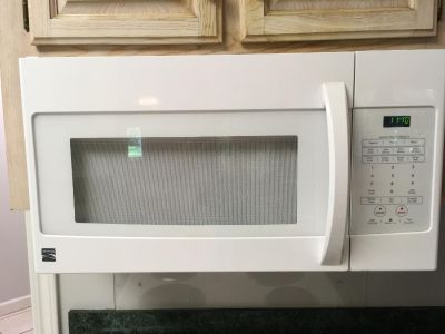 Kenmore microwave over range
