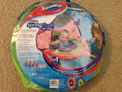 Baby Spring Float with Sun Canopy. New in package.