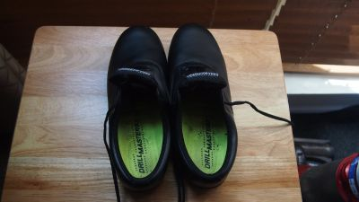 Drillmasters Black marching shoes Mens size 10.5, Womens size 12.5 GUC