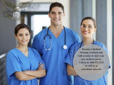Certified Nurse Aide course starting soon! Call and register before it is to late!