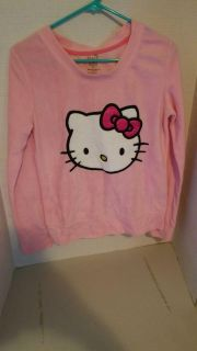 Hello kitty soft sweater large