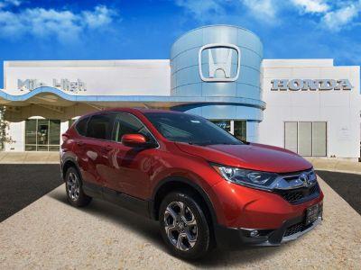 2018 Honda CR-V EX (Molten Lava Pearl)