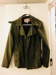 Green Army Jacket size Small