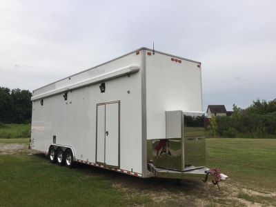 2004 Performax 32ft Stacker with dragster lift