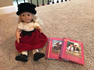 Our Generation Doll with Deluxe outfit, 2 Chapter Books