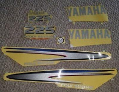 2002 -2006 Yamaha 225 decal kit NEW $ 80 SHIPPED