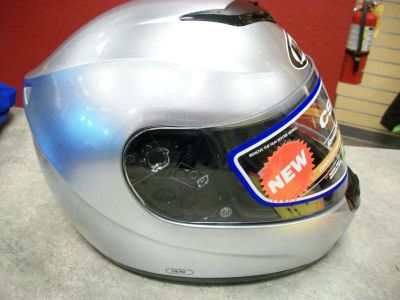 Purchase HJC CS-R2 Helmet Silver Large HJC CS R2 Helmet Large Silver New! motorcycle in Searcy, Arkansas, US, for US $95.00