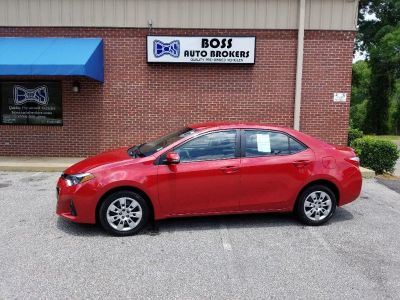 2016 Toyota Corolla S (RED)