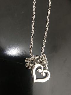 James Avery pendant and chain