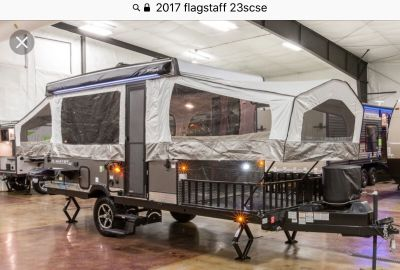 2017 Forest River FLAGSTAFF SPORT ENTHUSIAST 23SCSE