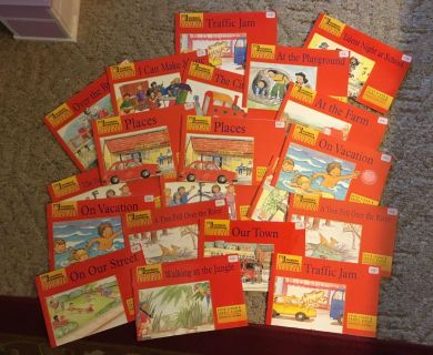 Classroom set of Little Red Readers, 20 total, Sundance Publishing.